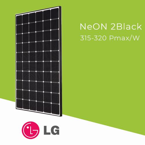 LG Neon 2Black Solar Panels