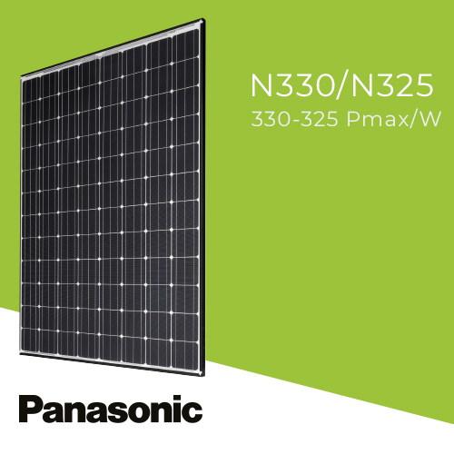 Panasonic N330 Solar Panels