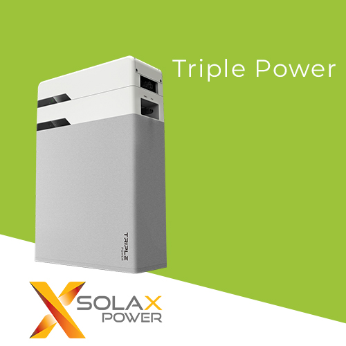 SOLAX Triple Power Solar Batteries