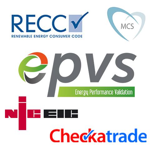 RECC MCS EPVS NICIEC CheckaTrade