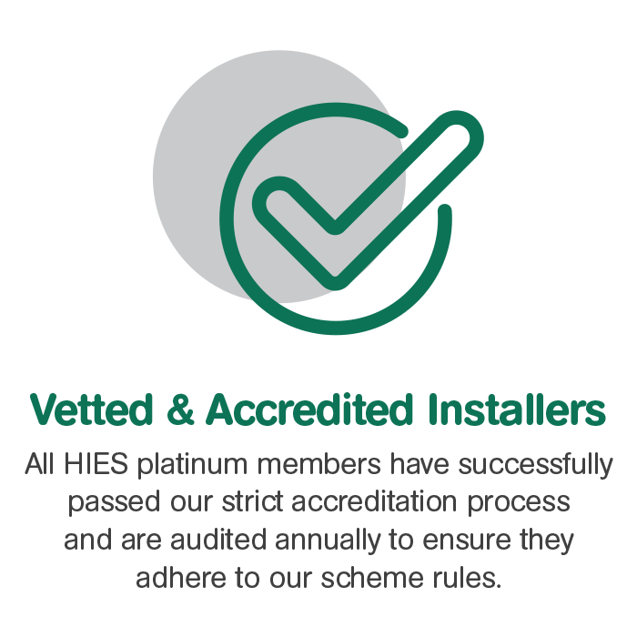 HIES Vetted & Accredited Installers