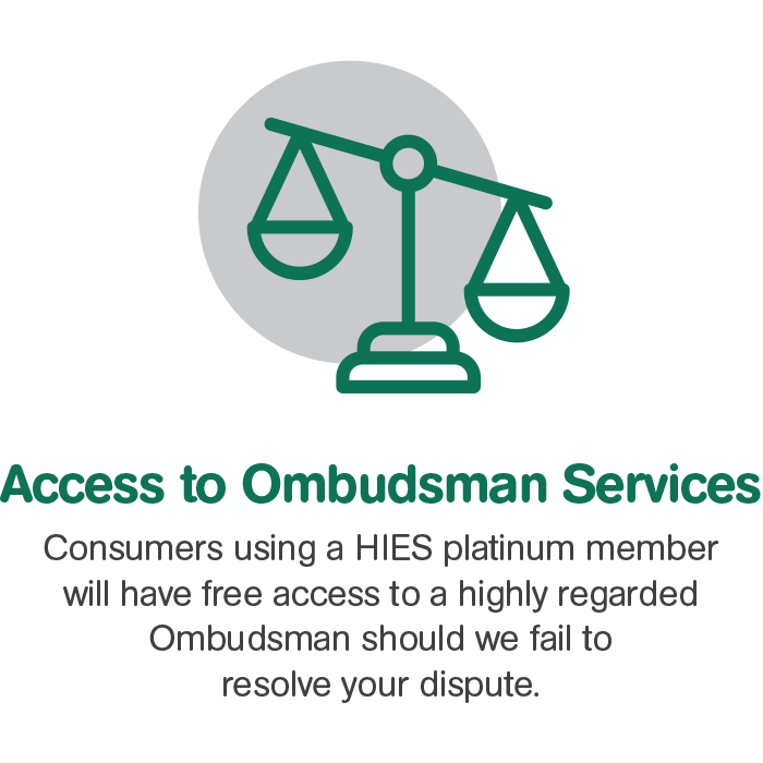 HIES Access to Ombudsman Services