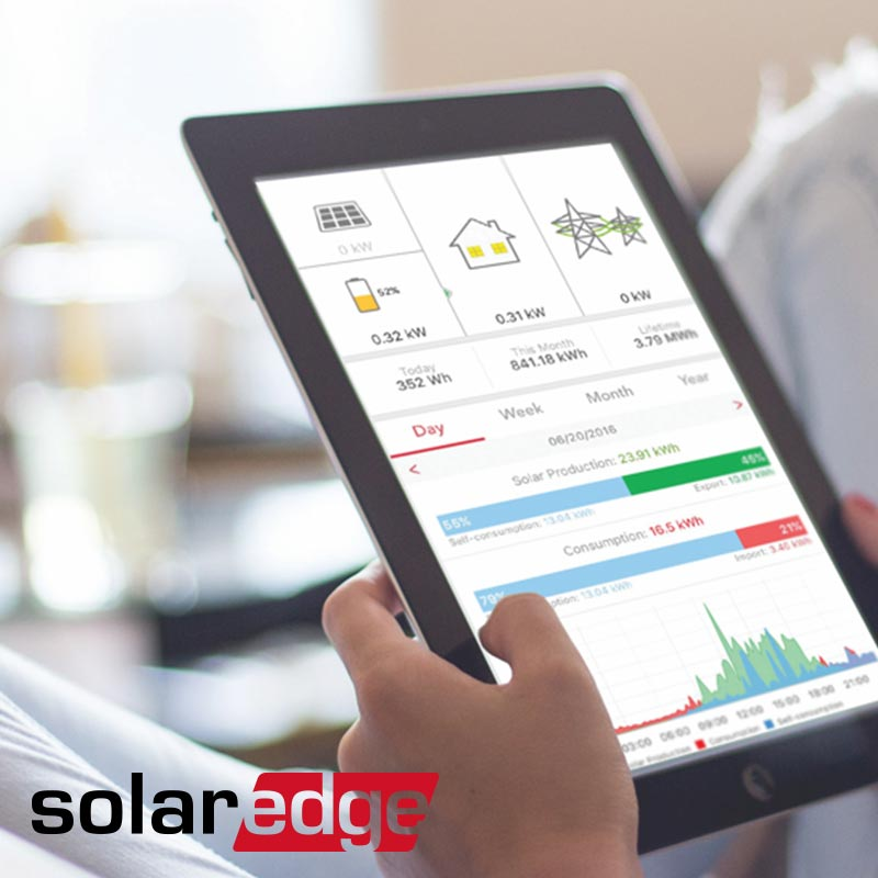 Upgrade with SolarEdge