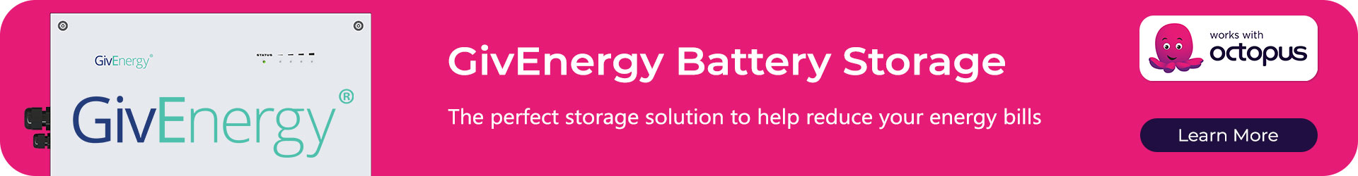 GivEnergy Batteries work with Octopus Energy