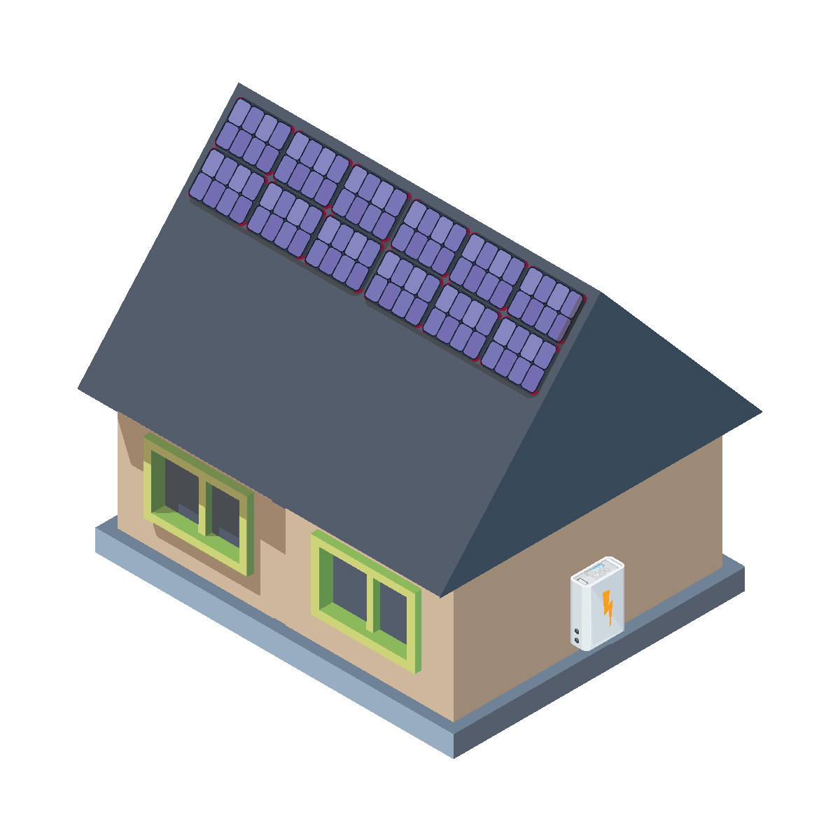 6kW Solar and Battery Package