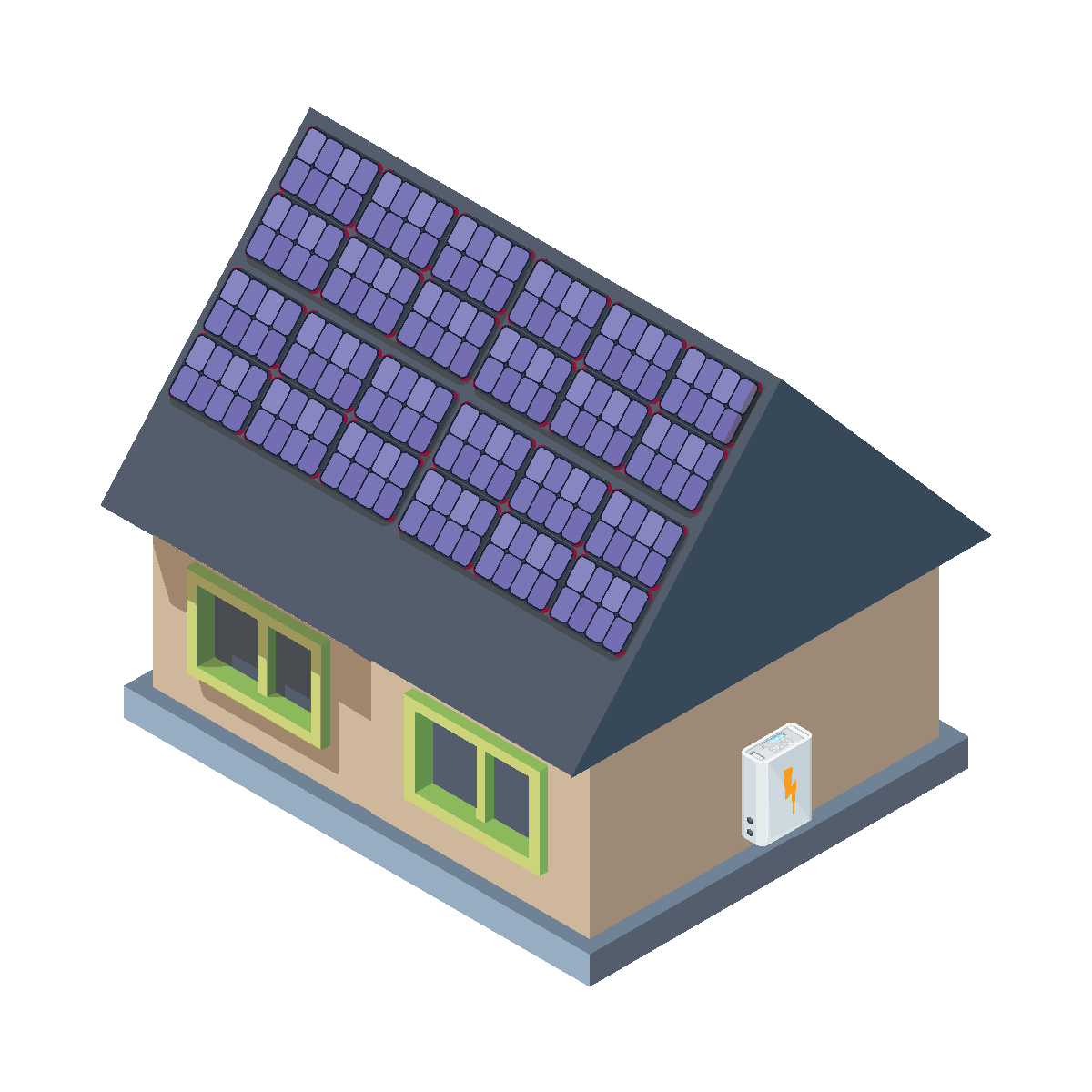 8kW Solar and Battery Package
