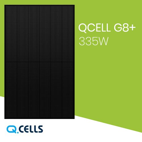 QCELL G8+ Solar Panels
