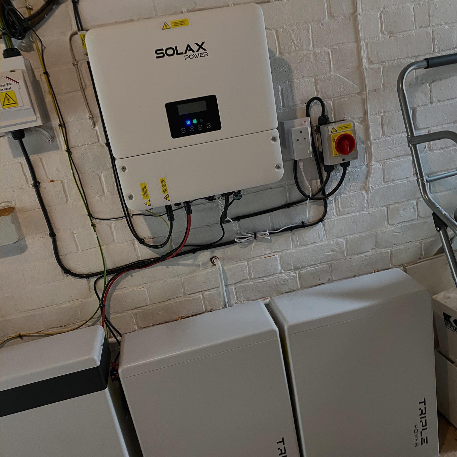Solax Solar Battery Storage